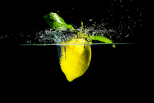 Splash et citrons